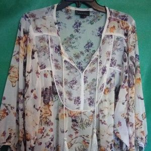 XL Sheer Fall Top